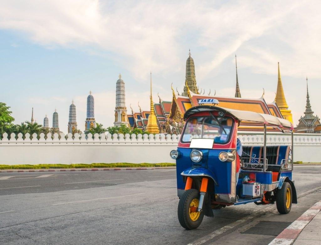 Thailand tuk-tuks