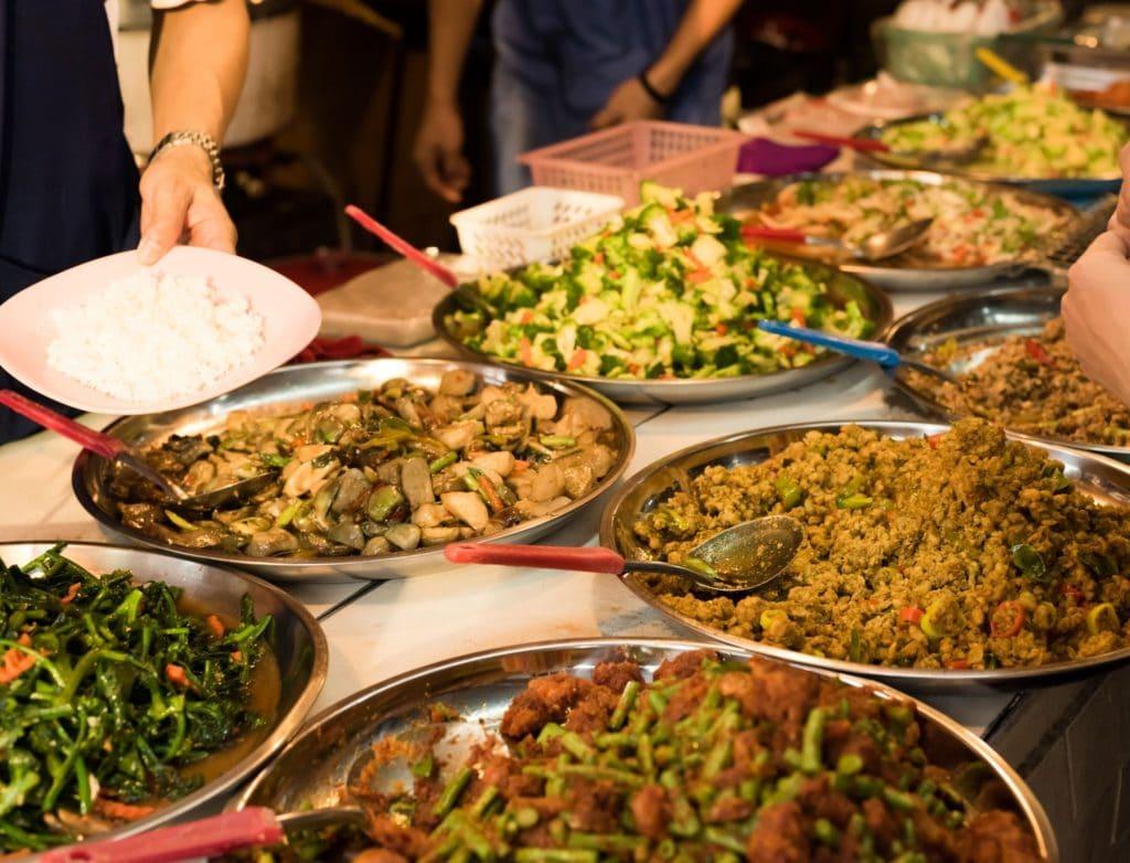 Bali Food vs Thailand Food