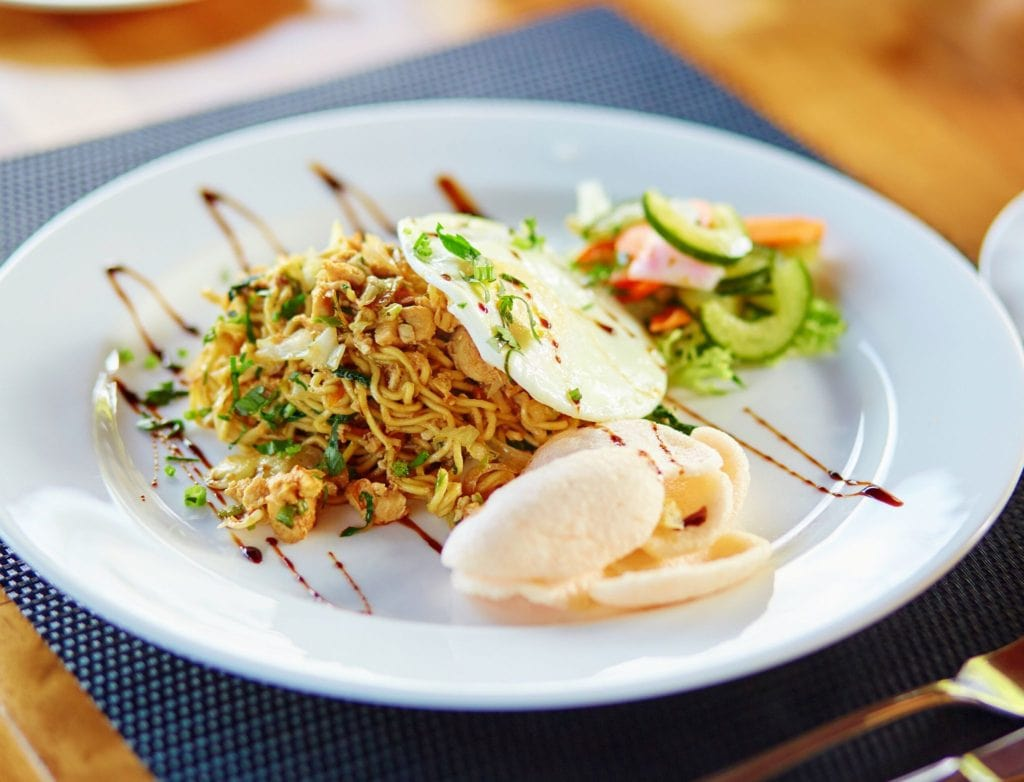 Thailand vs Bali Food