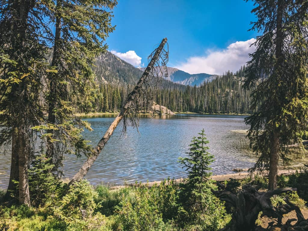 Steamboat Spring Hiking - Gold Creek Lake