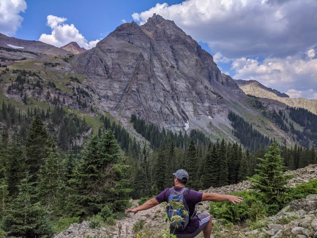 Blue Lakes Trail To Mount Sneffels
