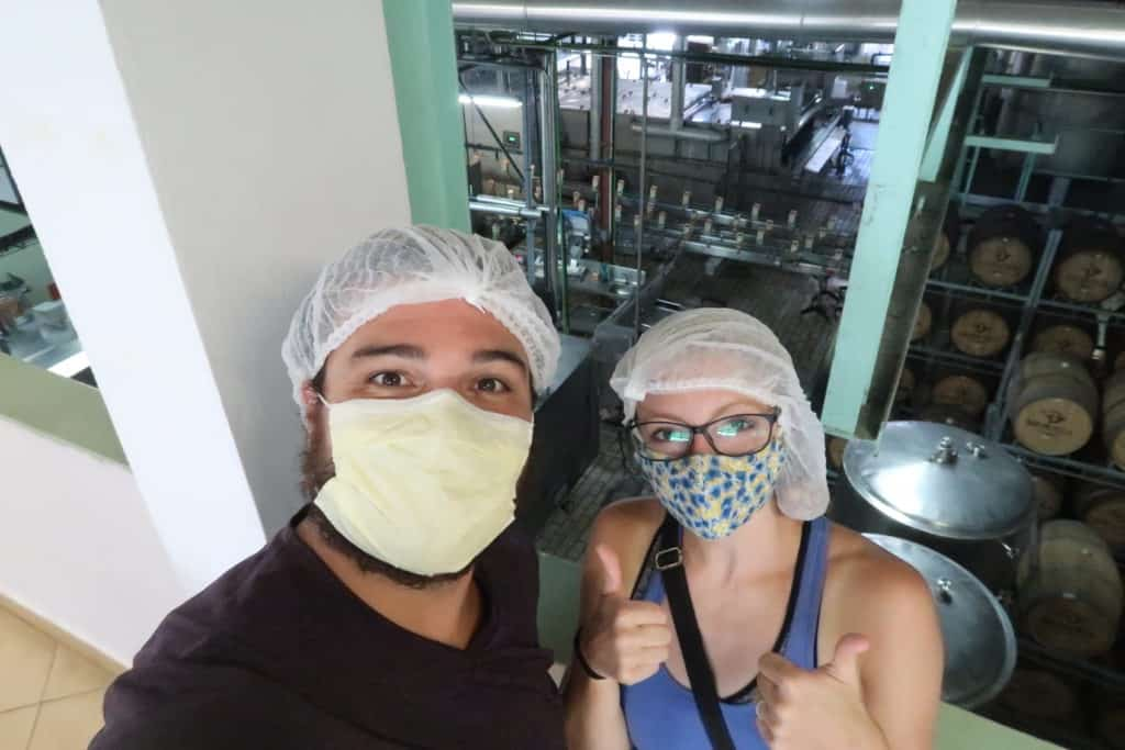 Touring the Rotui Juice Factory on the island of Moorea