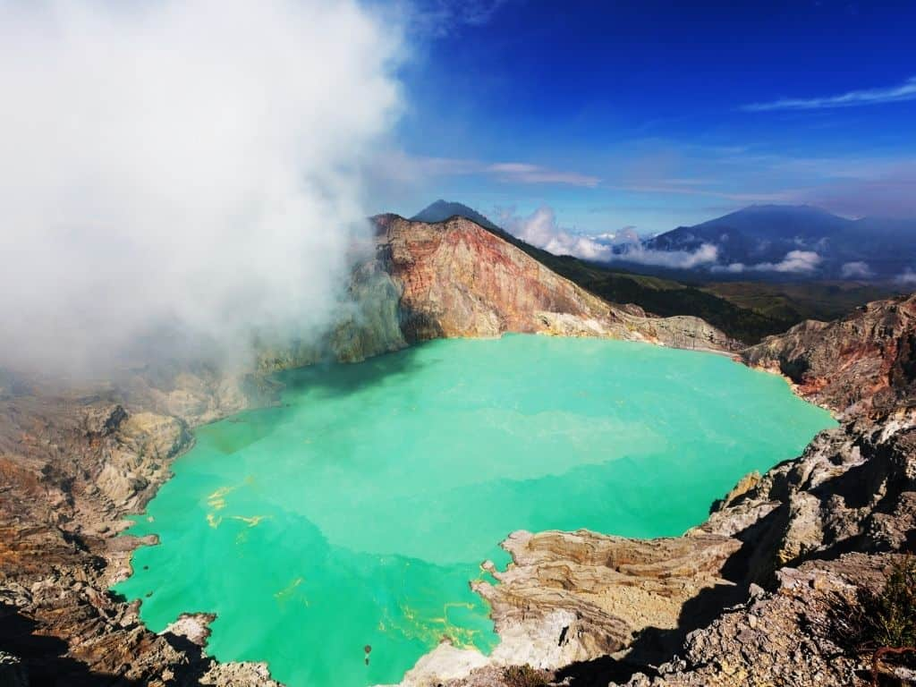 Don't bring your drone on the Mt Ijen hike. We lost ours to malfunctions caused by the sulfuric gases