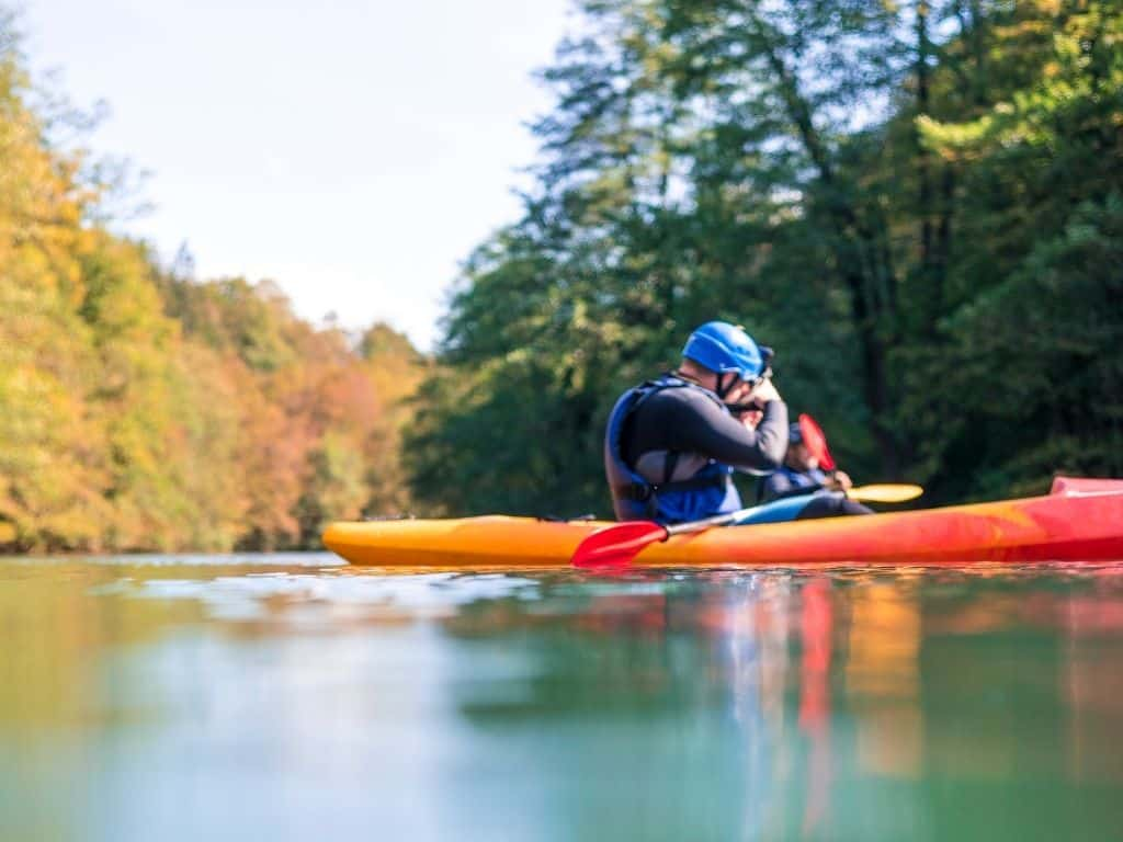 Kayak the Payette River with a company or by renting your own kayak