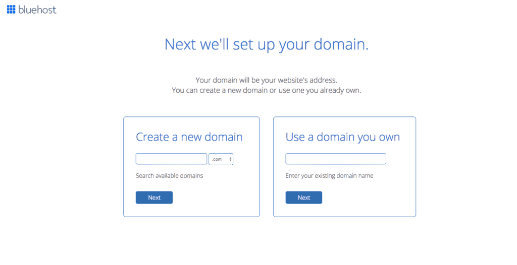 The First Step To Make Money As A Travel Blogger Is Choosing Your Domain Name On Bluehost