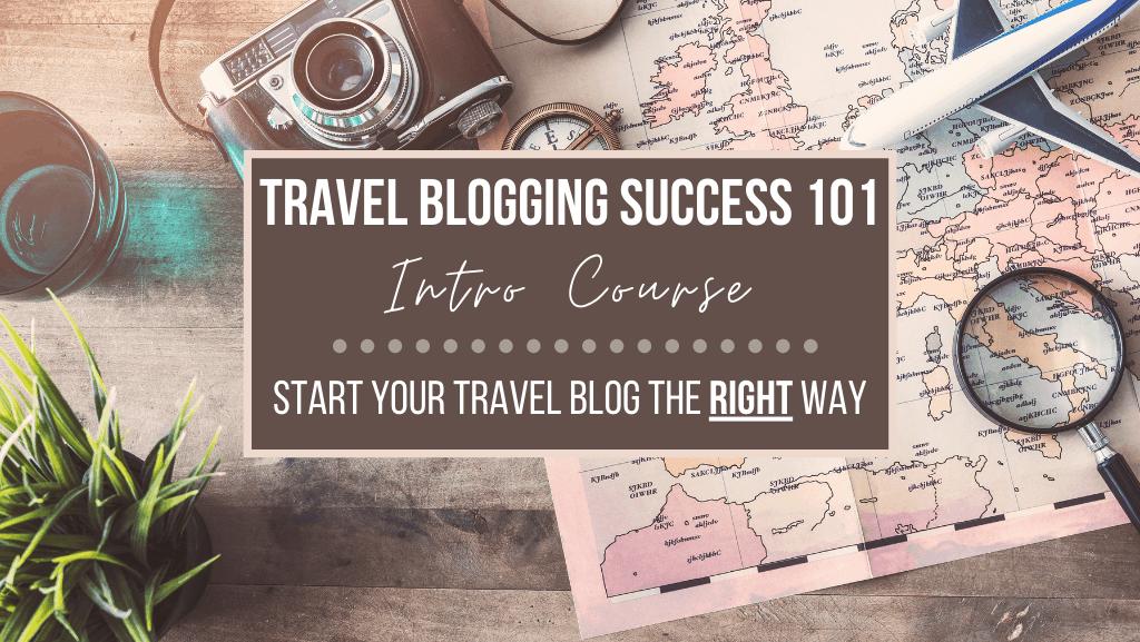 Travel Blogging Success