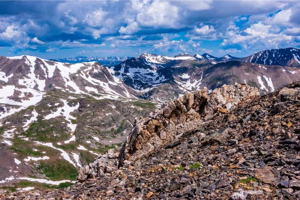 Mount Cameron, one of four 14ers that makes up the DeCaLiBron group is commonly known as being one of the easiest 14ers to hike in Colorado