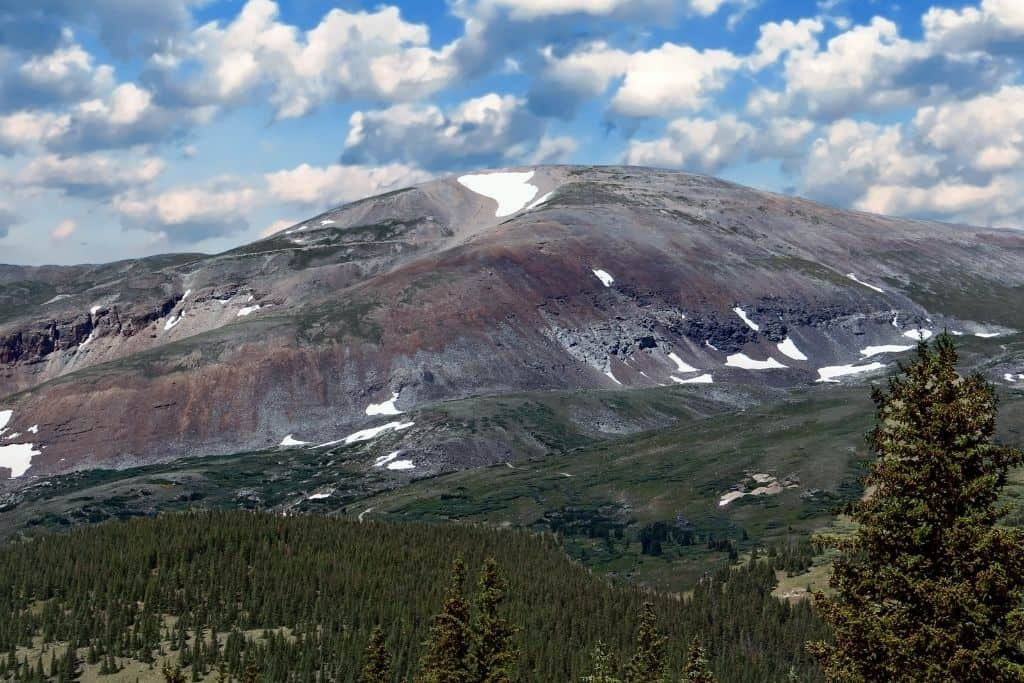 Picture of Mount Bross on a sunny day.