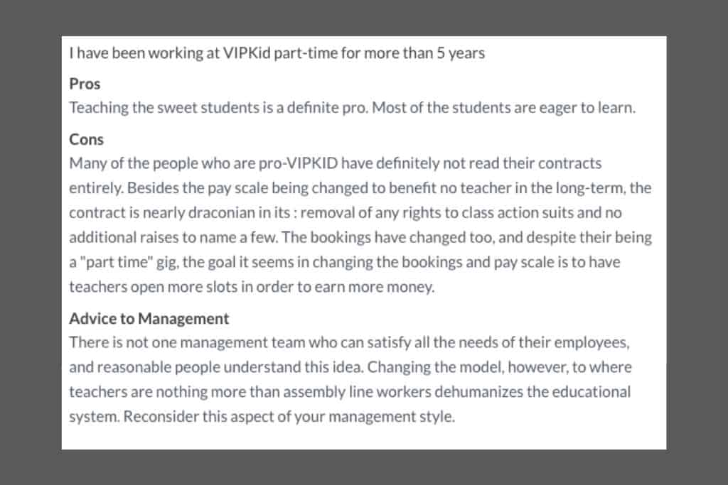 This teacher is not impressed with recent changes to the VIPKID platform. Here are her reviews..