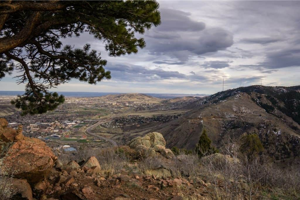 Belcher Hill in Golden is one of the best winter hikes in Colorado