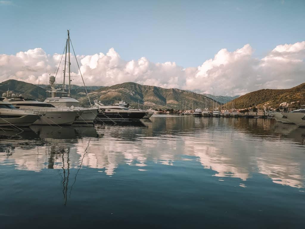 Walk along the bay in Kotor.