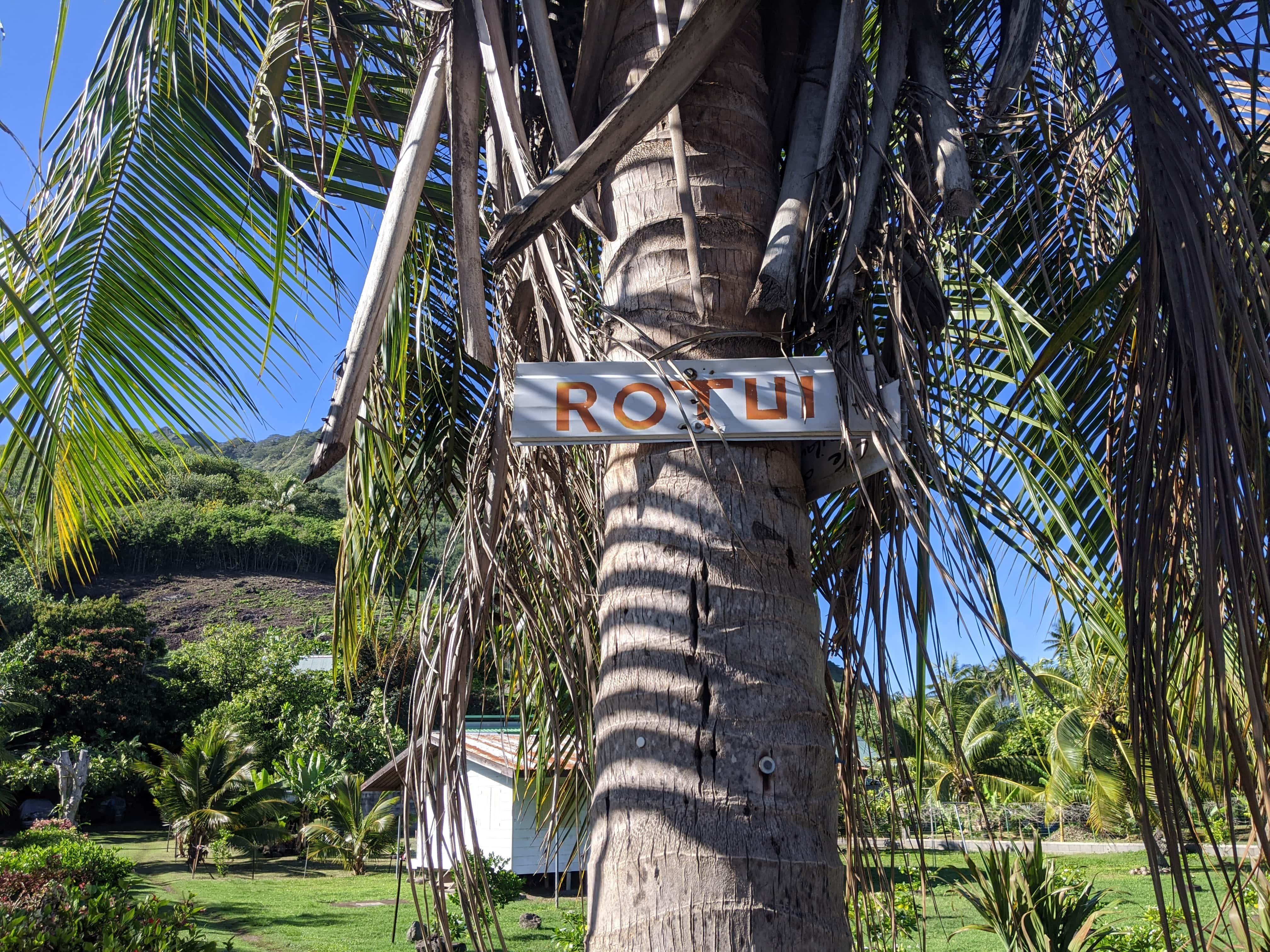 Entrance Sign To Mount Rotui Hike