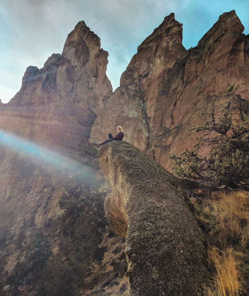 Smith Rock State Park, one of the best things to do in Bend, Oregon