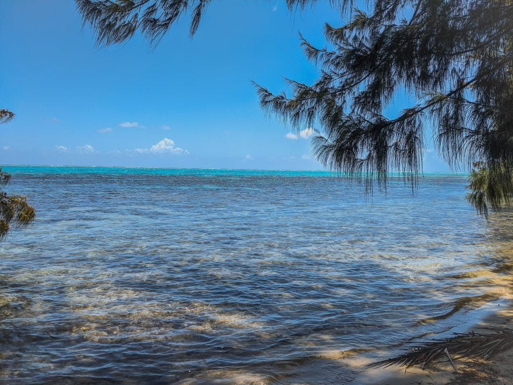 Secret Beach in Moorea - One of The Best Places To Stay In Moorea