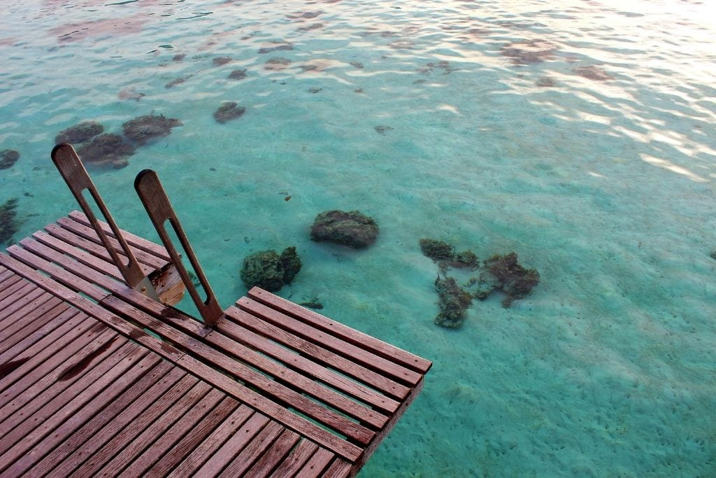 Manava Beach Resort is one of the best affordable luxury hotel on the island.