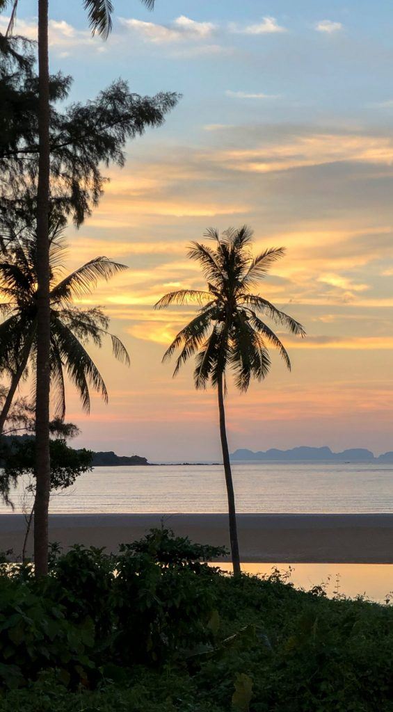 Where To Stay In Krabi. Koh Lanta Island At Sunset