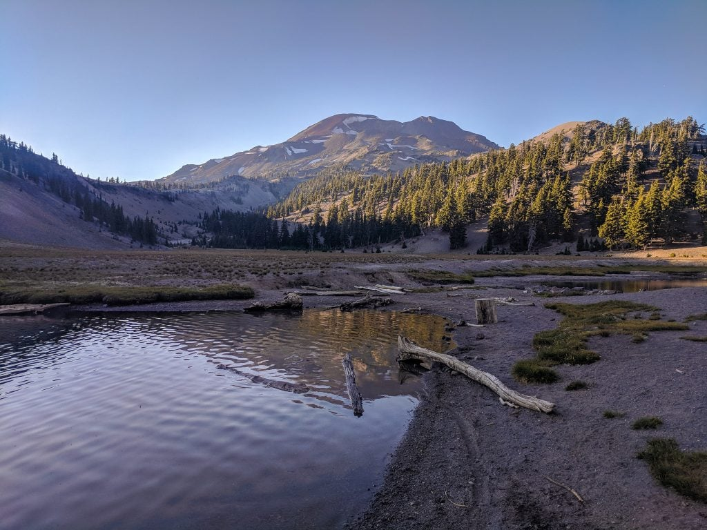South Sister At Dawn; South Sister is One of The Best Hikes Near Bend, Oregon.