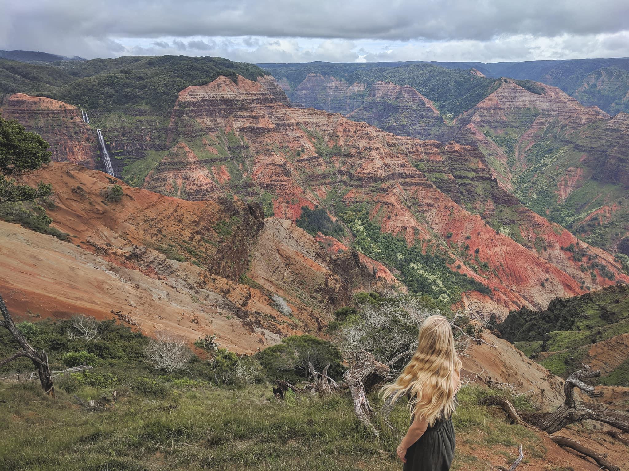 A View of Waimea Canyon. Things To Do In Kauai.