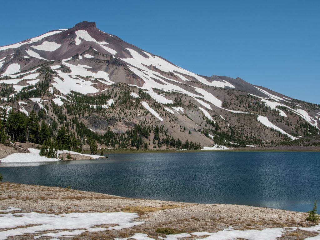 A View From Green Lakes Trail; One of the Best Hikes Near Bend, Oregon.