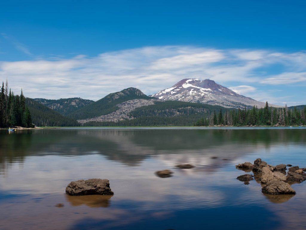A View of Mount Bachelor From Ray Atkeson Memorial Trail.