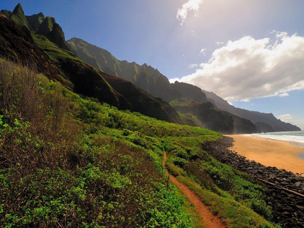 Camping On The Island of Kauai