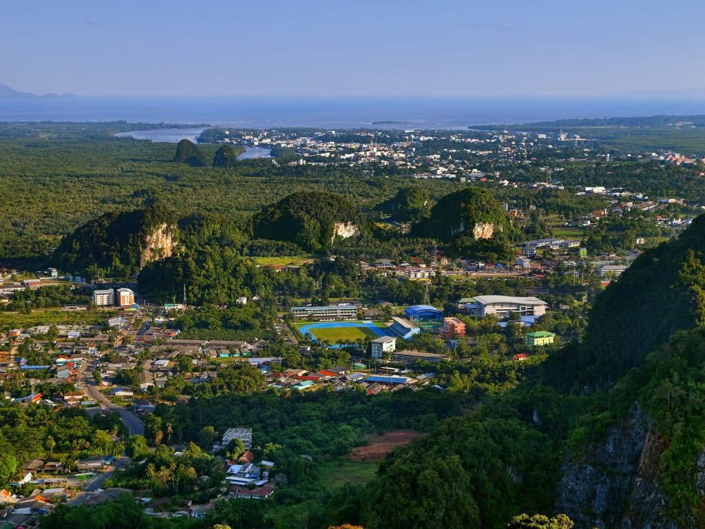 Krabi Town Is One of The Best Places To Stay In Thailand.