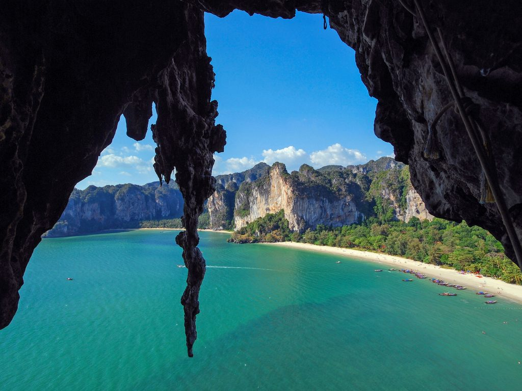 Railay Beach Is One Of The Best Places To Stay In Krabi.