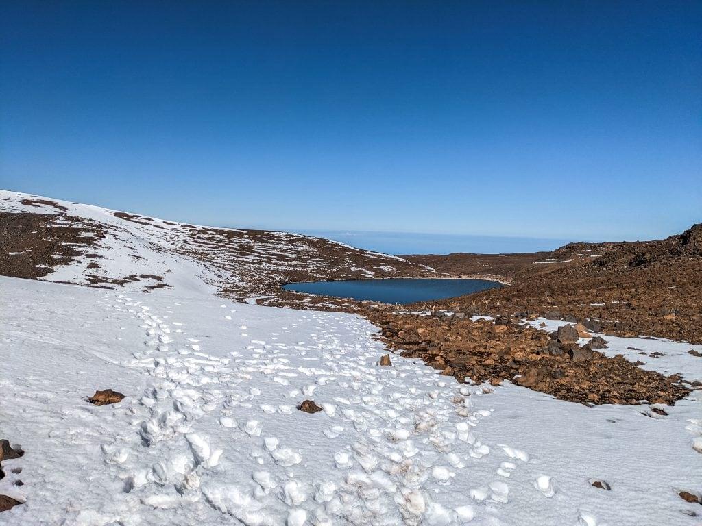 Lake Waiau, A Sacred Area on Mauna Kea.