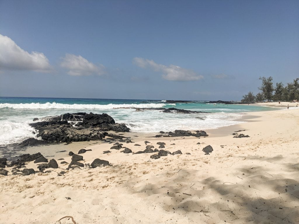 Makalawena Beach On The West Side of the Big Island Is One of the Best Things You Can Do On The Big Island.