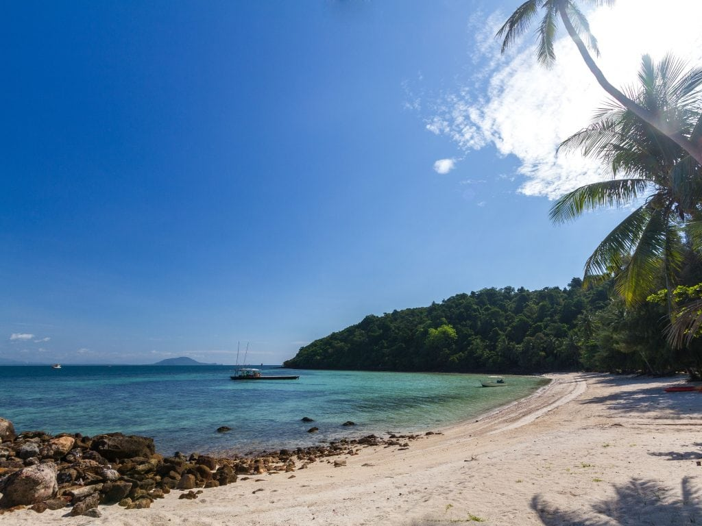 Beach Coast In Koh Talu In Thailand, A Great Island For Hopping Around.