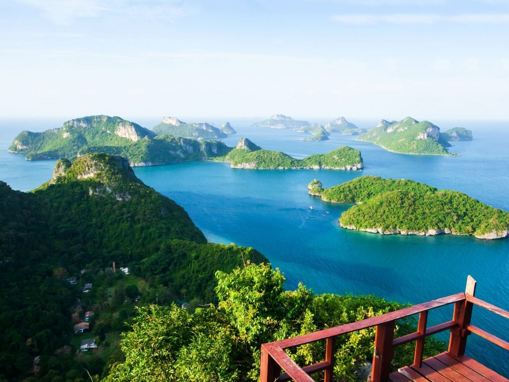 Koh Wua Ta Lap Island View In Thailand, An Excellent Island Hopping Destination.