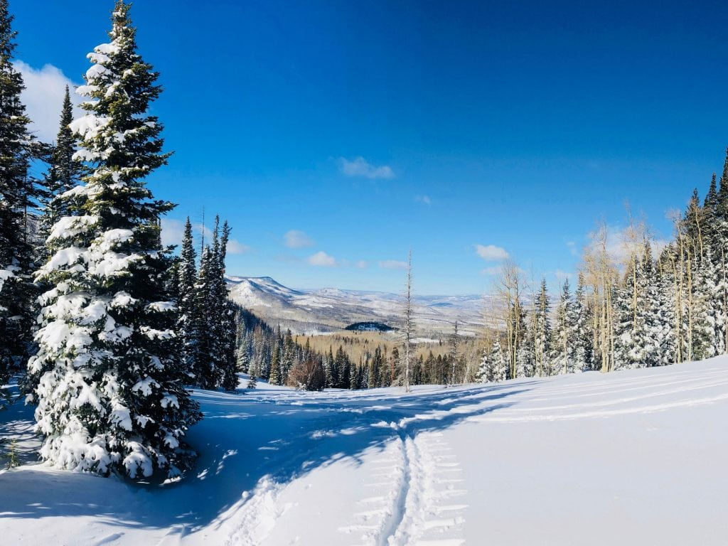 Herman Gulch Trail in Dillion, Colorado is one of the best winter hikes in the state.