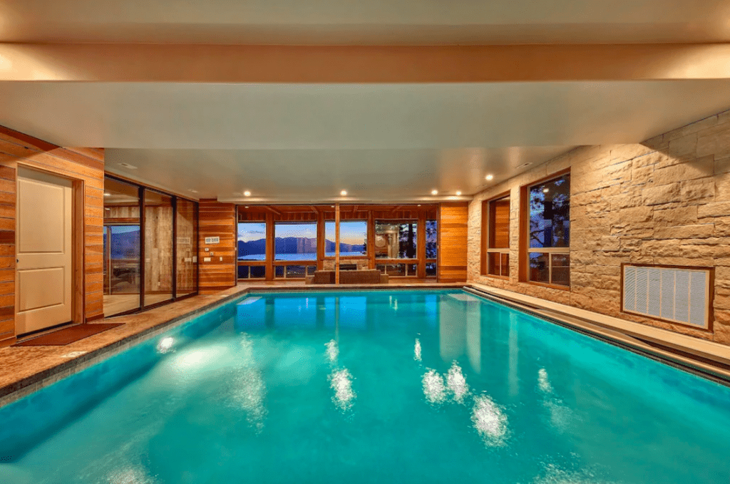 Airbnb With Indoor Pool Luxurious