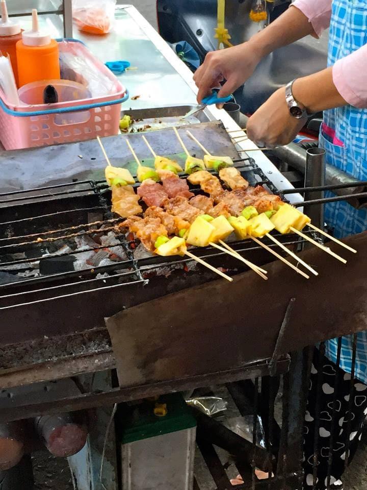 Street Food in Thailand.