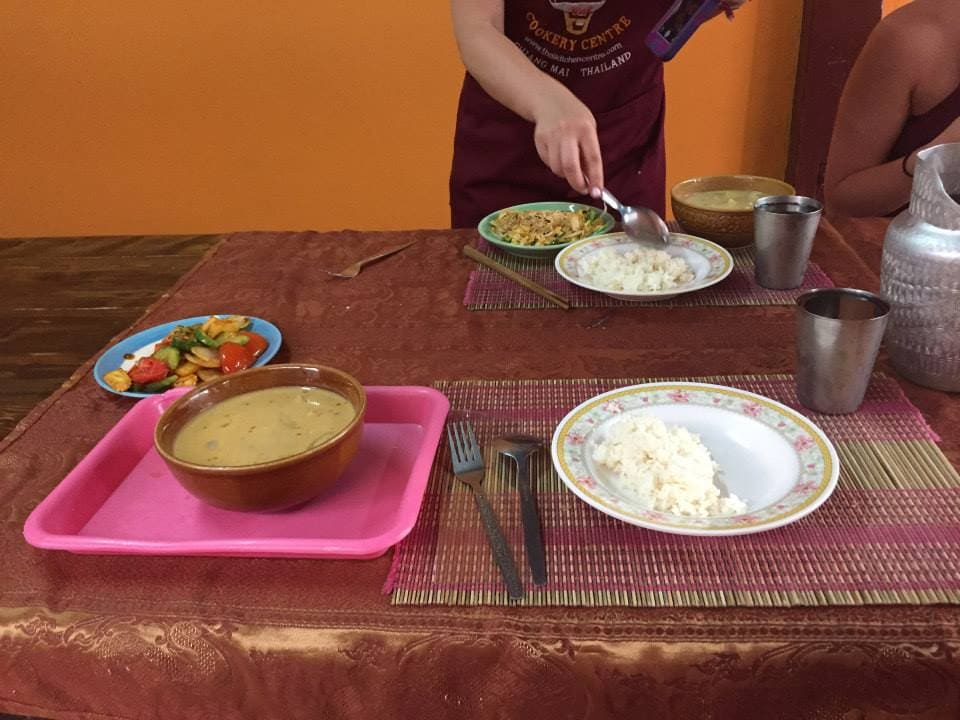 Cooking Class in Chiang Mai Thailand.