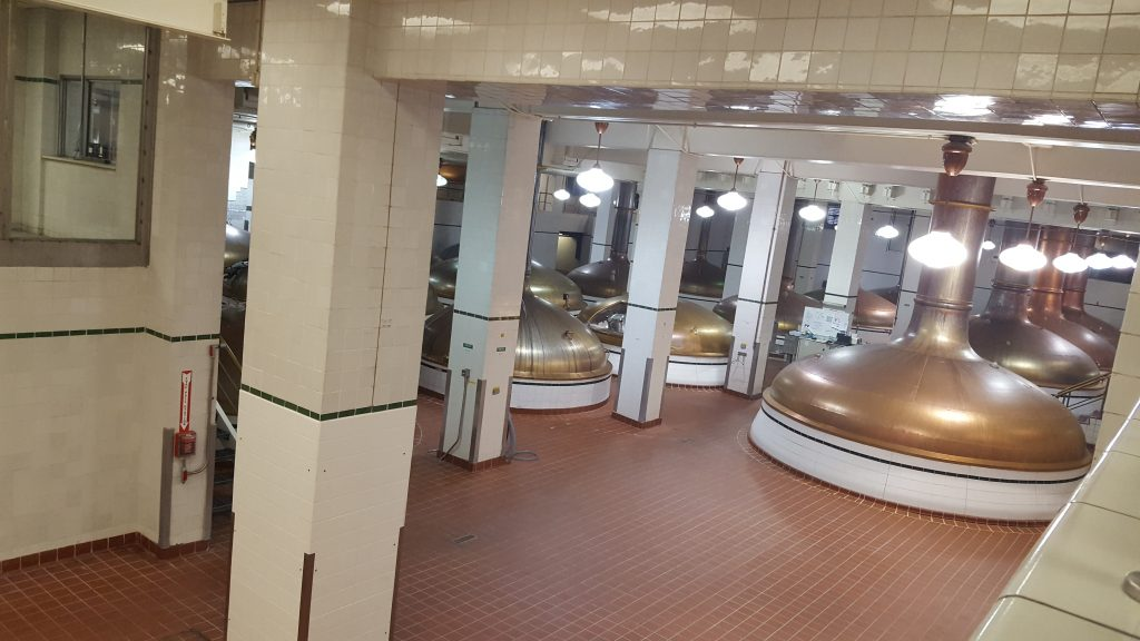 Coors Brewery Vats During Tour Best Day Trips From Denver