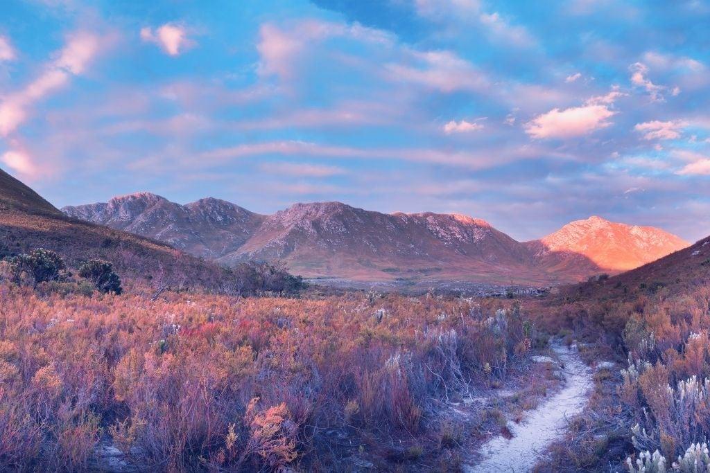 Kogelberg National Park Near Cape Town Has Plenty of Good Hiking Trails.