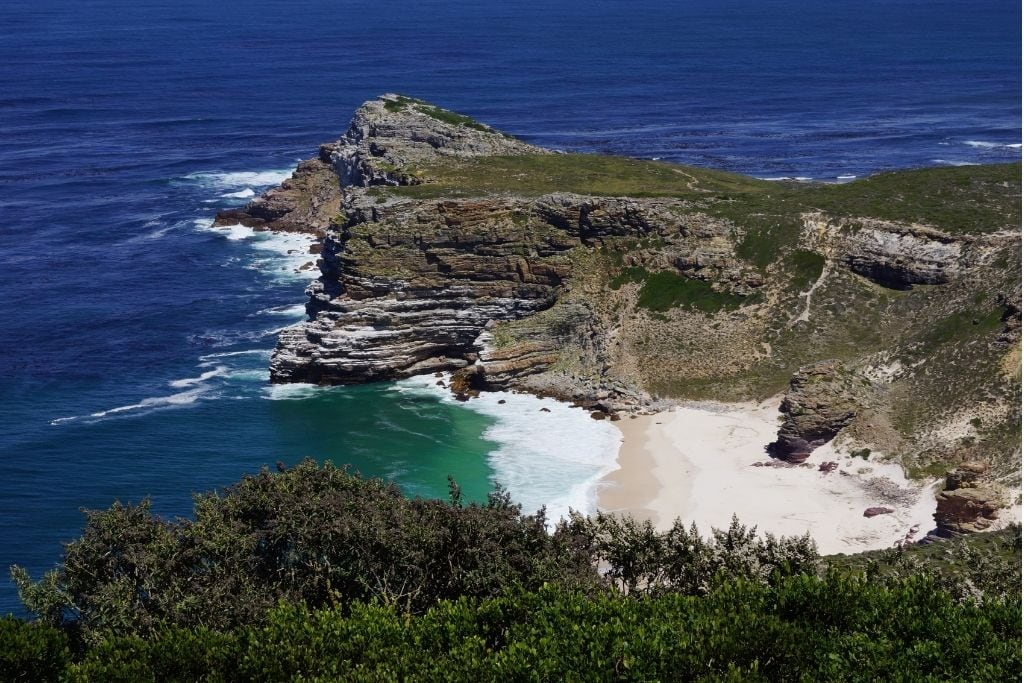 An Aerial View of The Cape of Good Hope.
