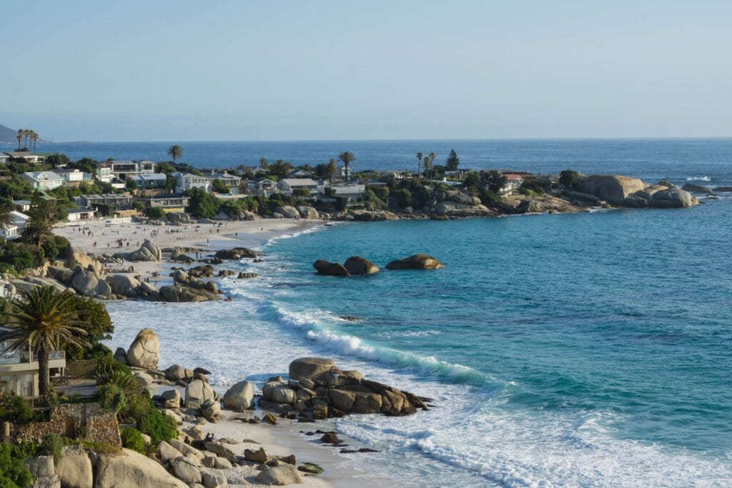 A Long Stretch of Clifton Beach.