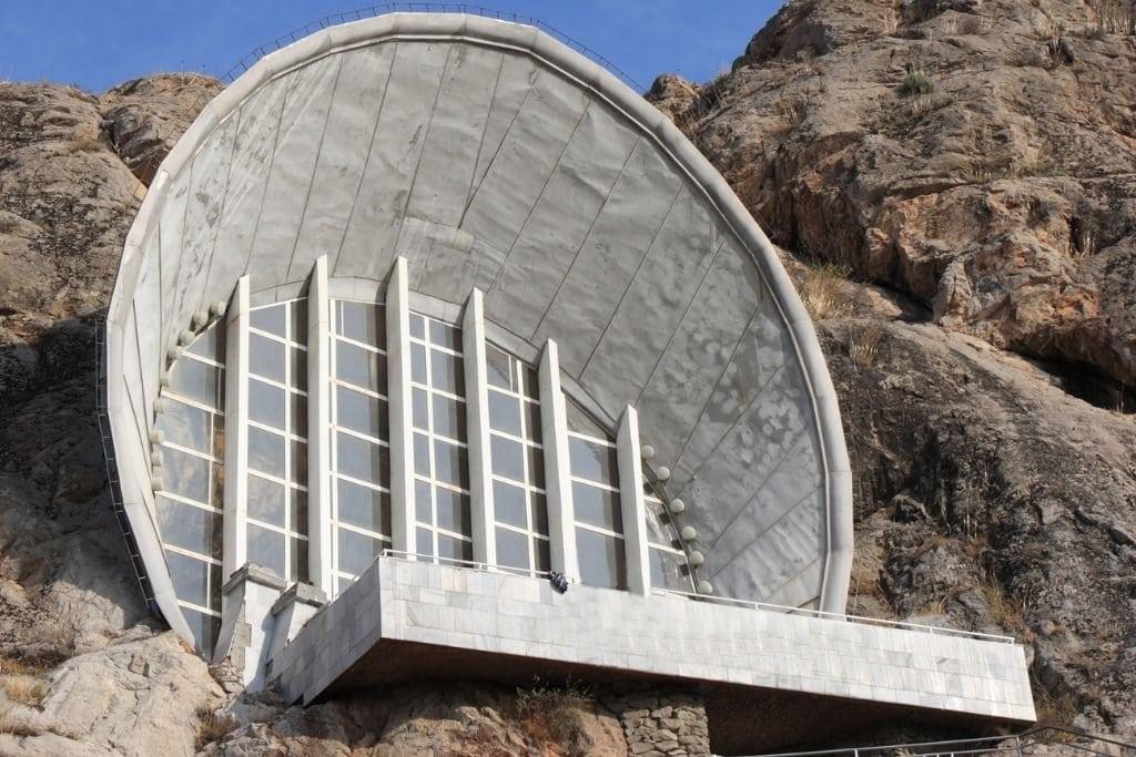 Solomon Mountain Museum In Osh, Kyrgyzstan.