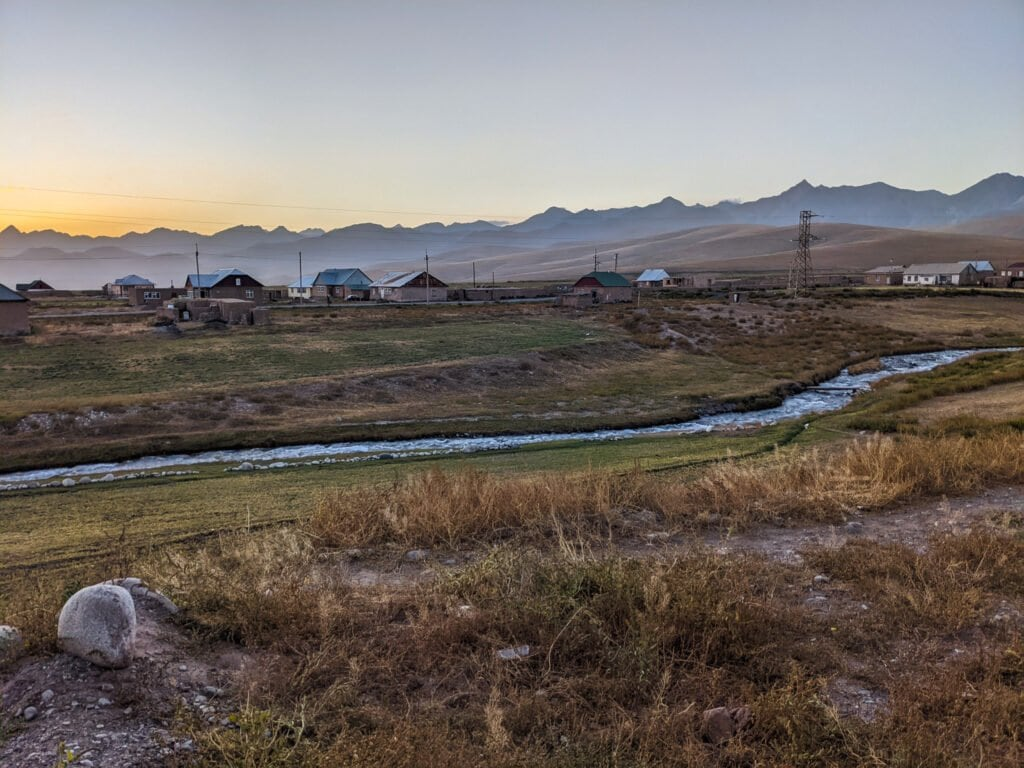 Sary Mogol VIllage in Southern Kyrgyzstan Should Be Added To Your 2 Week Kyrgyzstan Itinerary.