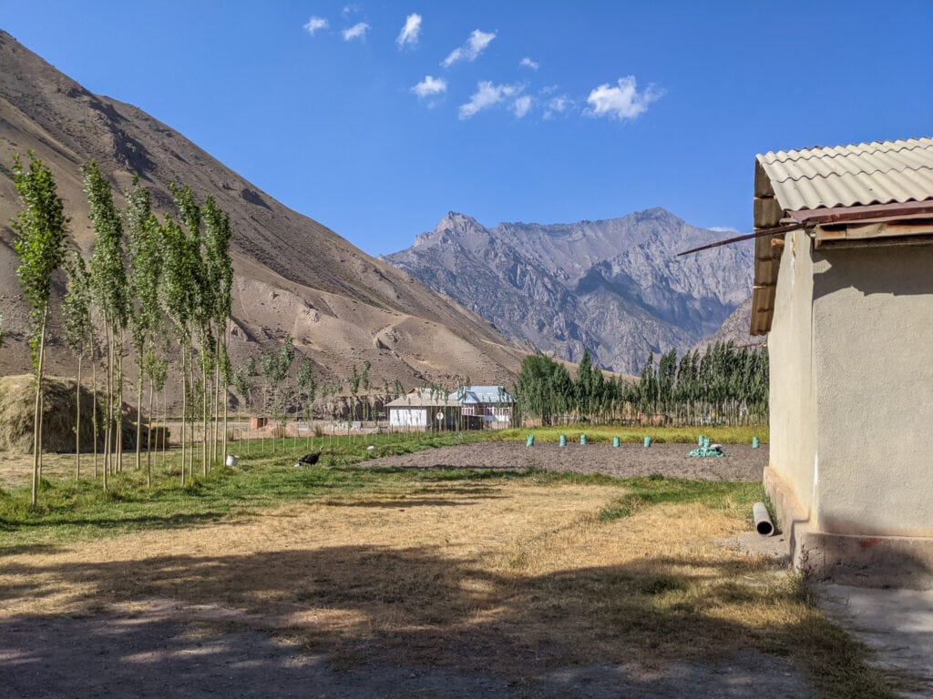 A Small Village in Southern Kyrgyzstan.