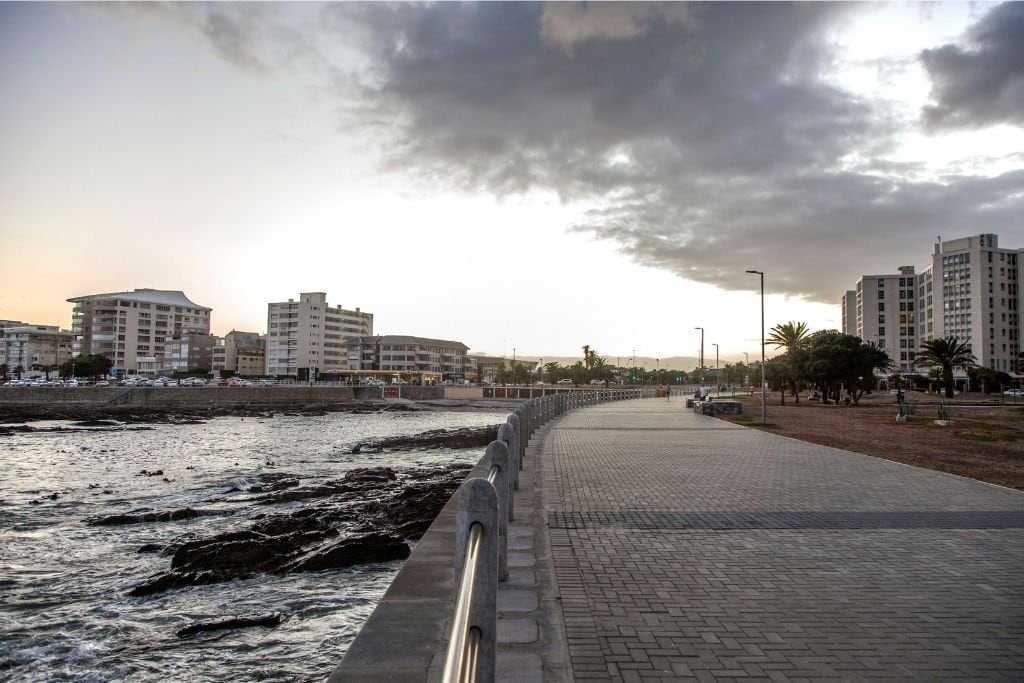 The Sea Point Promenade and Beach.