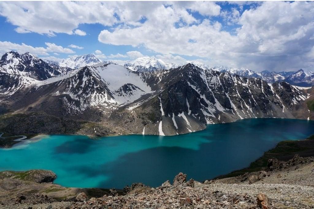 Ala Kul Lake Is A Must Visit On Your 2 Week Trip To Kyrgyzstan.