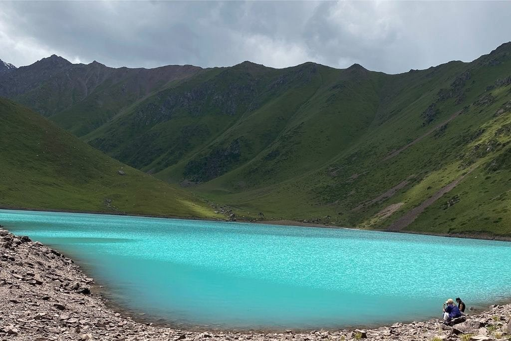 Kol Tor Lake Is A Great Day Trip From Bishkek.