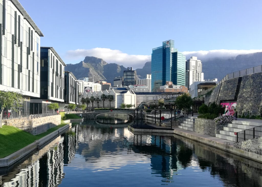 Battery Park In Cape Town South Africa.