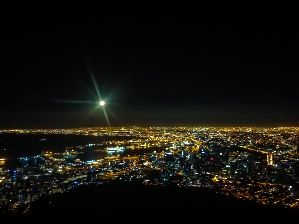 Cape Town At Night Can Be Dangerous.