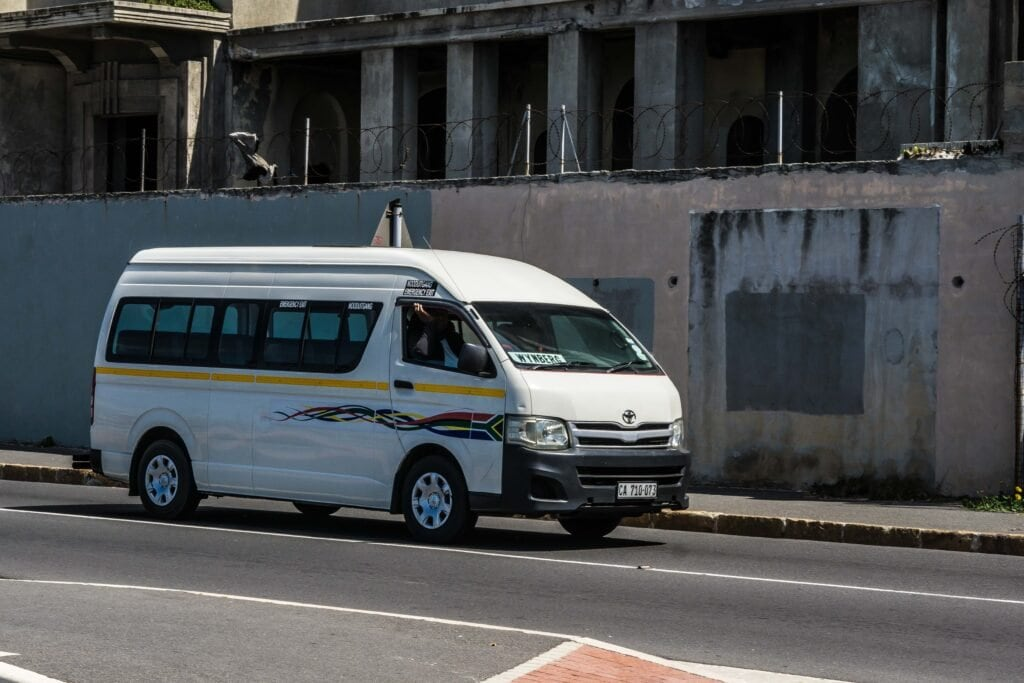 Cape Town Mini Bus Taxis Aren't Dangerous But Can Be A Wild Ride.
