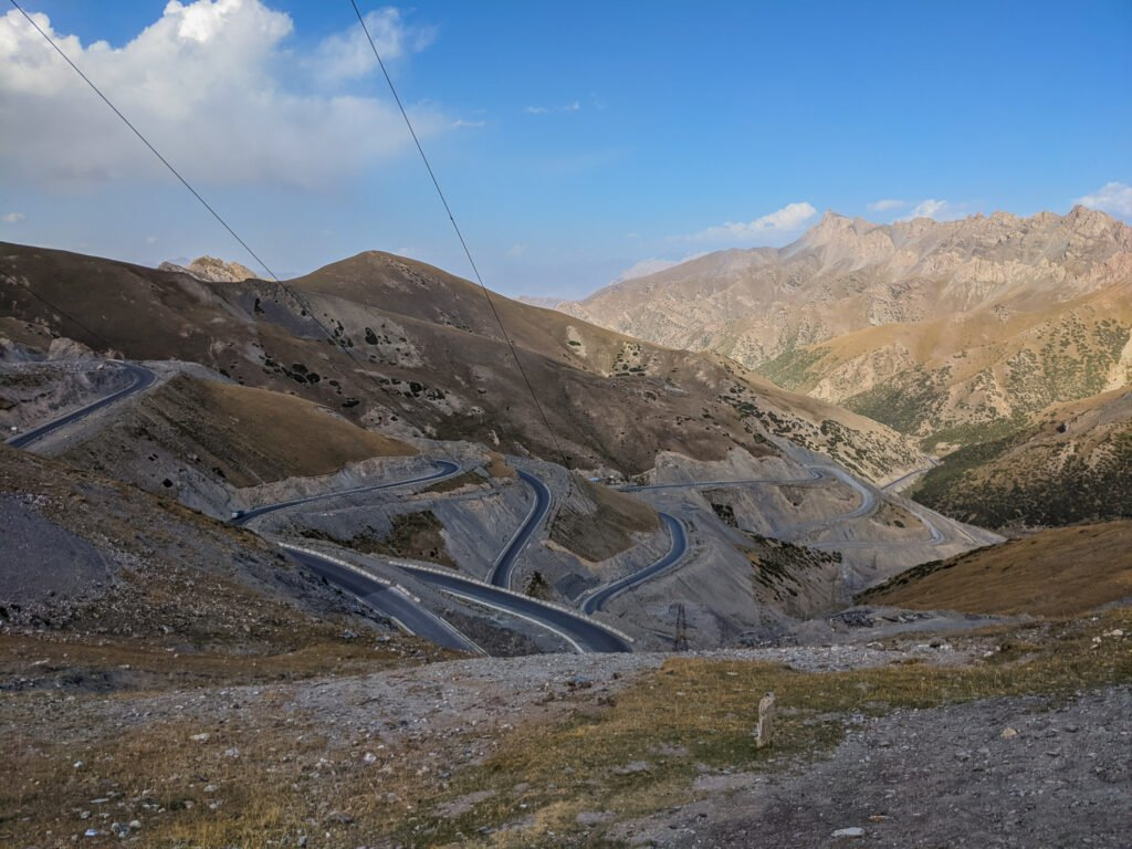 The Pamir Highway In Kyrgyzstan Is A Safe Route To Travel.