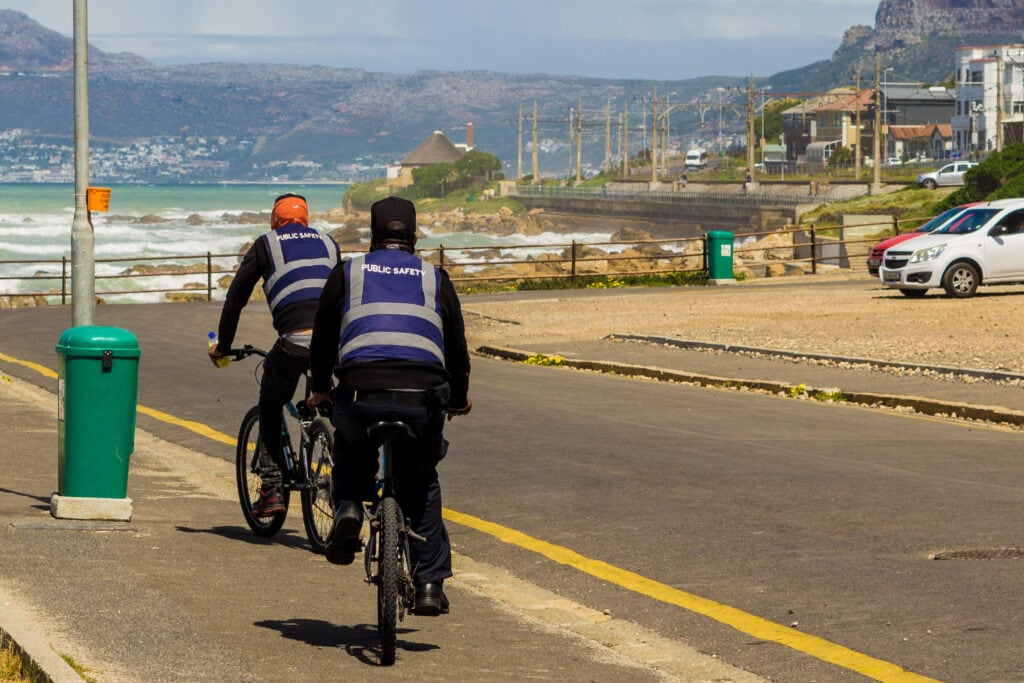 Safety Officers In Cape Town To Keep Dangerous Crimes From Happening.